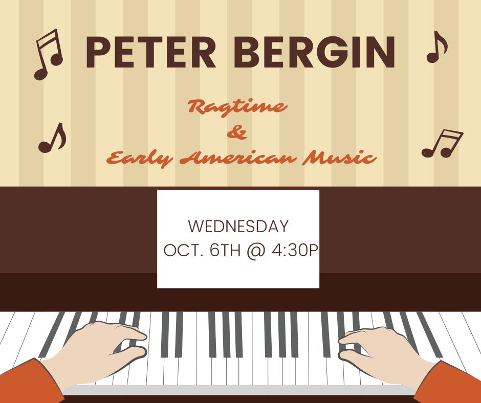 Peter Bergin Concert